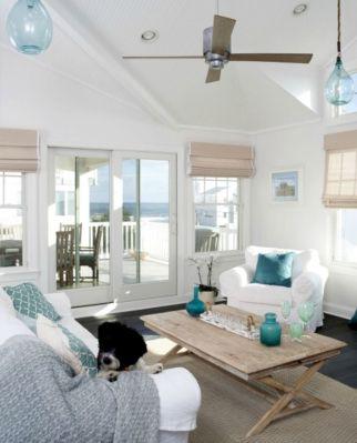 Rustic Beach Decor Living Room