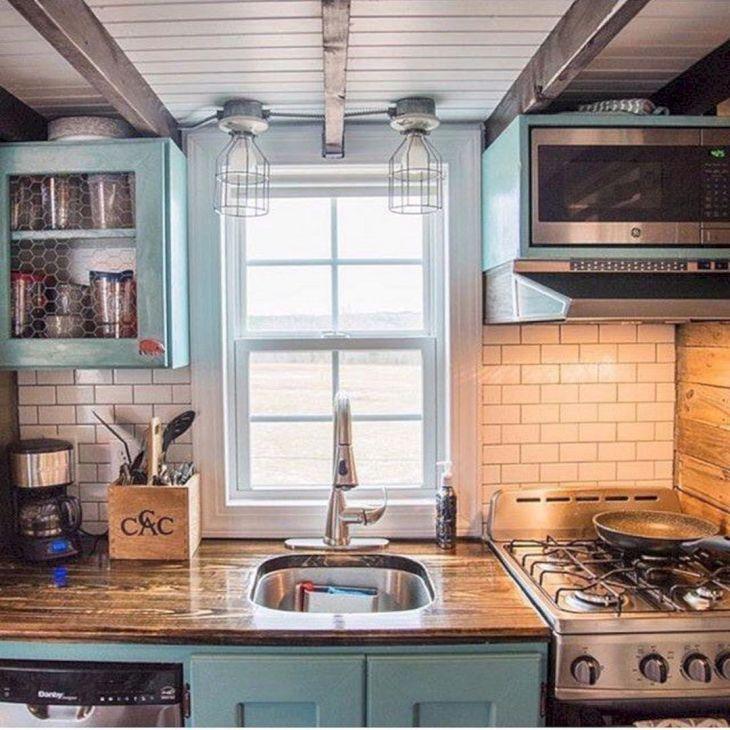 25+ Gorgeous Small Kitchen Design For Tiny House – DECOREDO