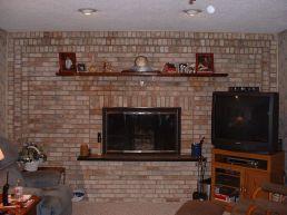 Brick Fireplaces Design