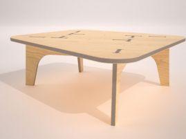 CNC Plywood Furniture Plan
