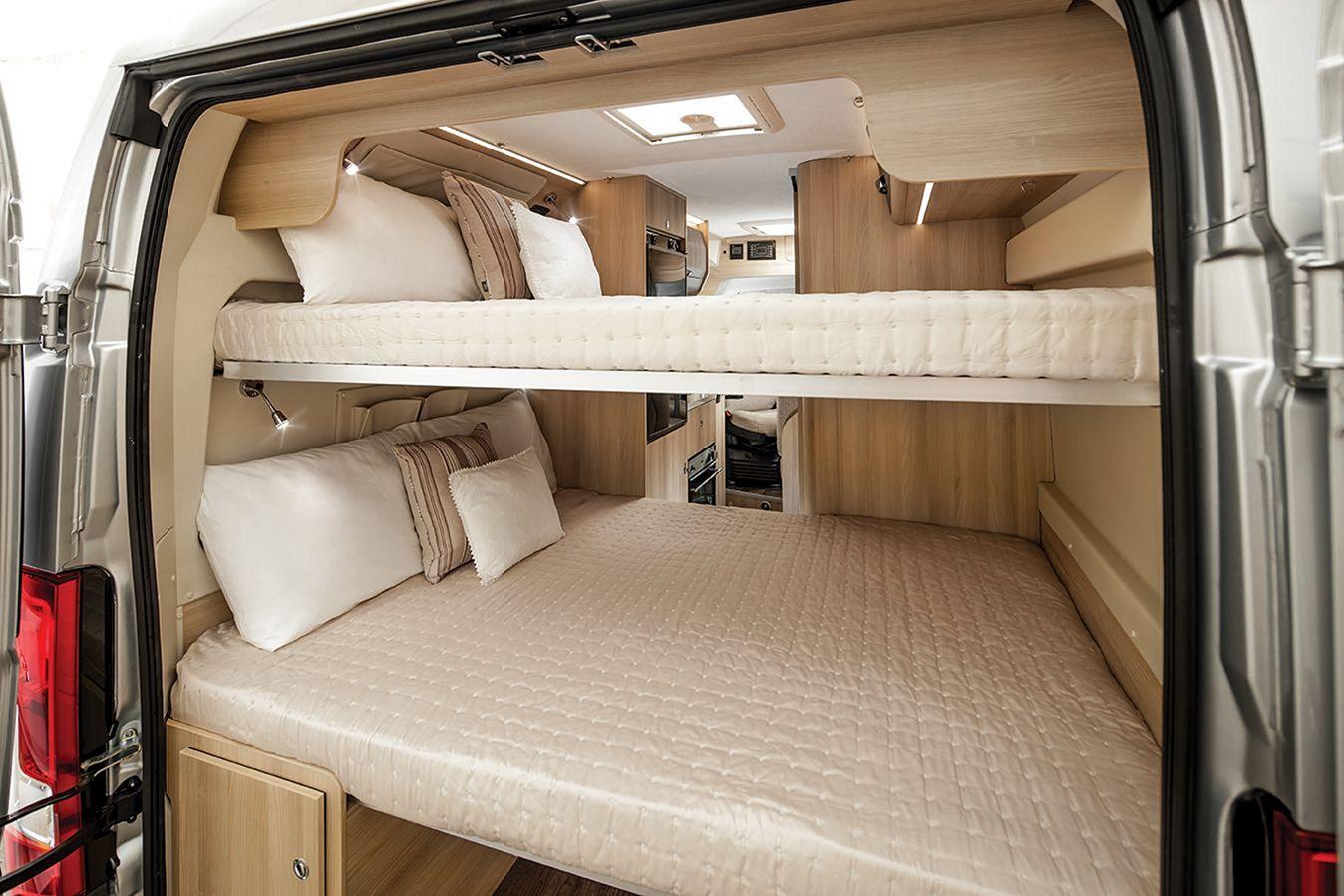 Sprinter Van Bunk Beds >> Camper Van Conversion Bed – DECOREDO