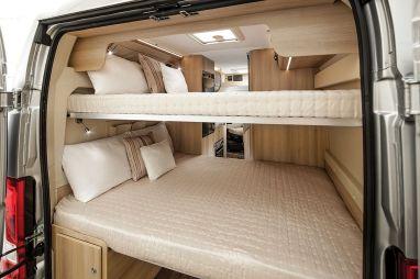 Camper Van Conversion Bed