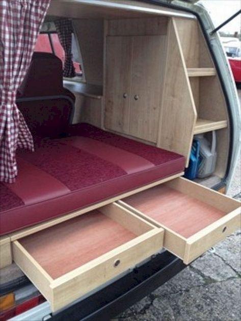 Campers Van Interior Design Ideas