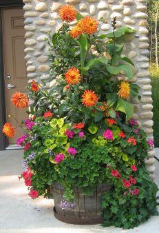 Container Flower Arrangement Ideas