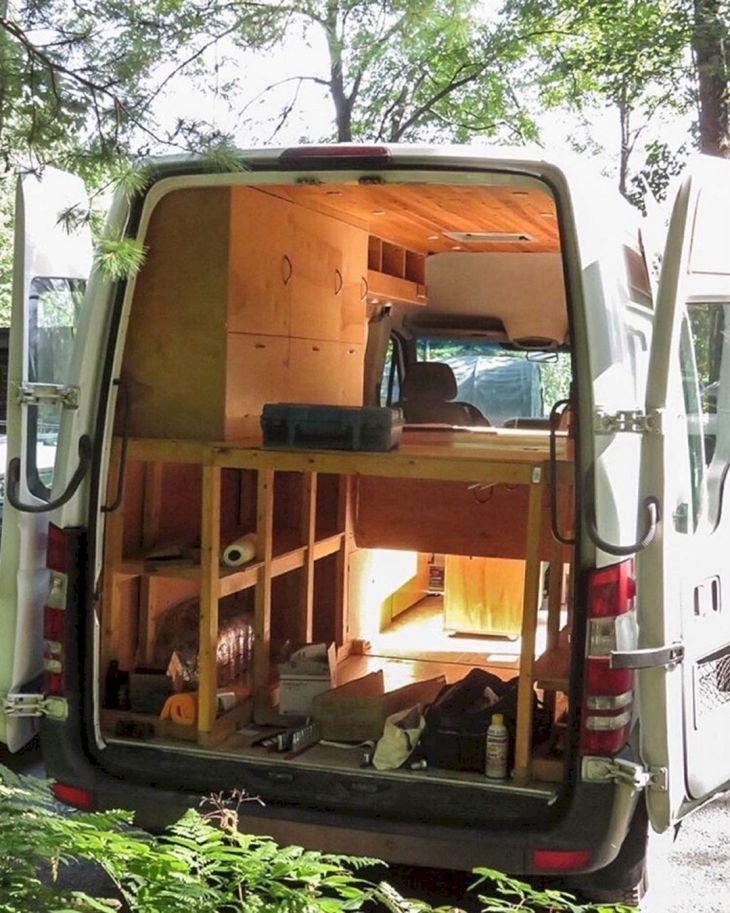 Conversion Interior Sprinter Van Camper