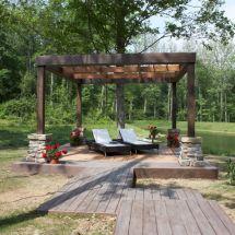 Cool Outdoor Deck Idea