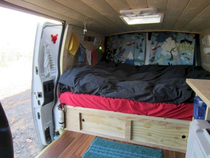 22 Cool DIY Camper Van Collections For Summer Inspiration