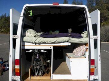 DIY Camper Van Bed Conversion Ideas