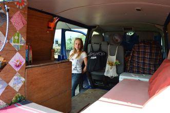 DIY Camper Van Interior Design