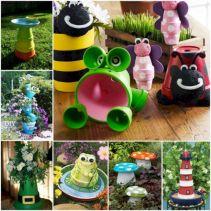 DIY Clay Pot Crafts