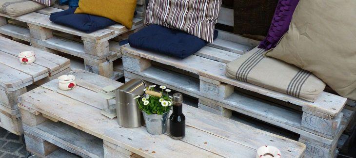 DIY Wood Pallet Patio Furniture
