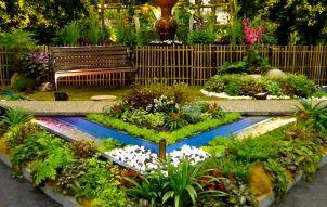 Flower Garden Design Idea