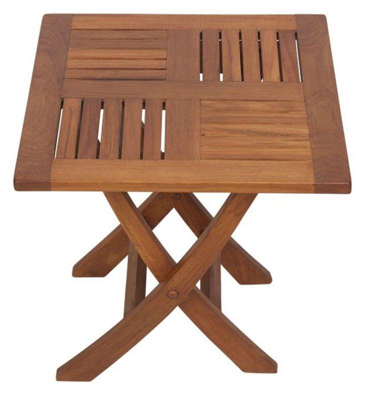 Folding TV Tray Table Plan