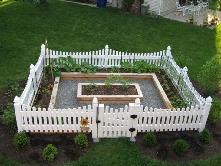 Front Idea Garden Fence