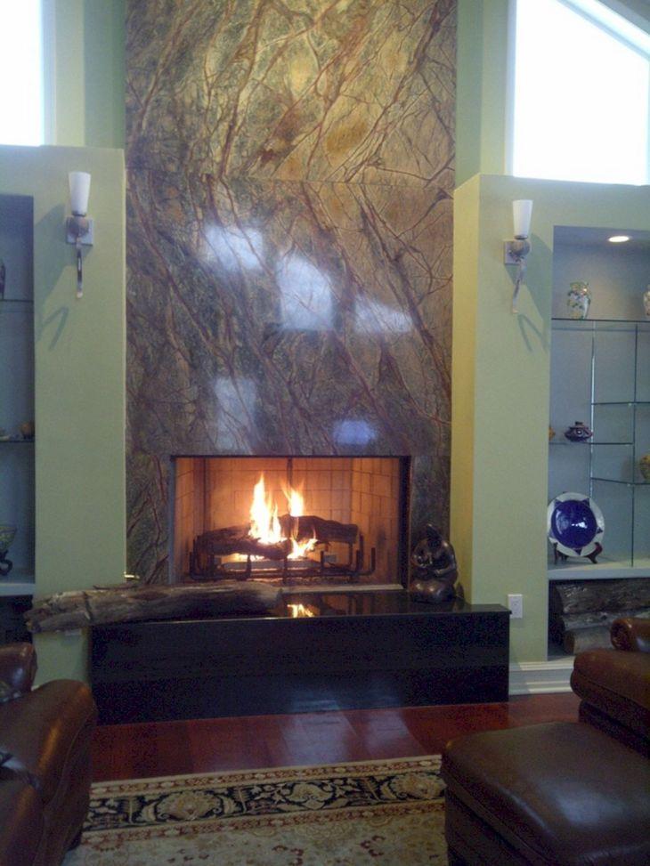 Granite Fireplace Surround