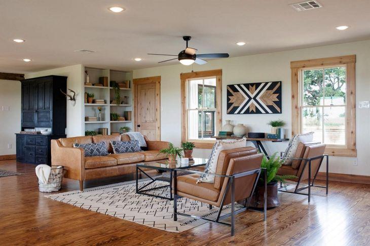 Joanna Gaines Fixer Upper Living Room