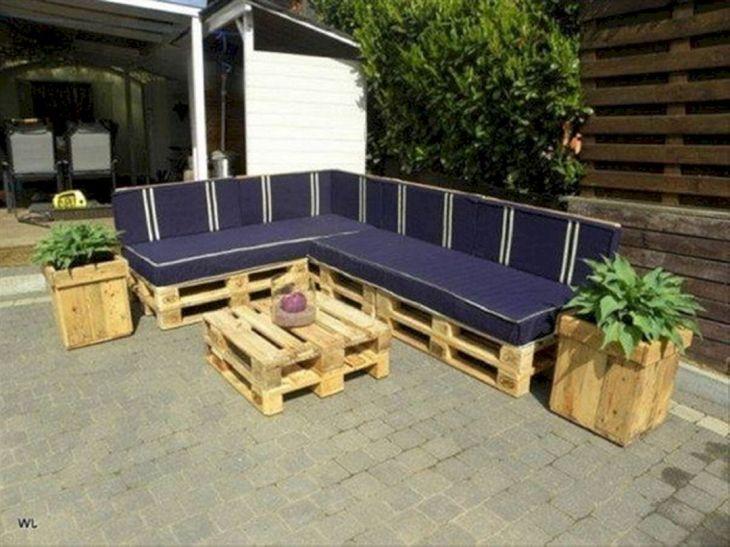 Patio Pallet Furniture Plans
