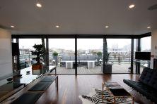 Rooftop Loft Windows