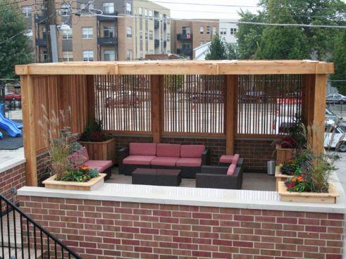 Rooftop Outdoor Living Room