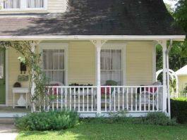 Simple Front Porch Design