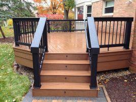 Small Backyards Deck Design