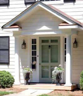 Small Front Porch Idea