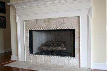 Tile Fireplace Surround Design Ideas