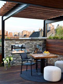 Urban Rooftop Deck Design Ideas