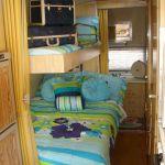 Vintage Camper Trailer Bunk Beds