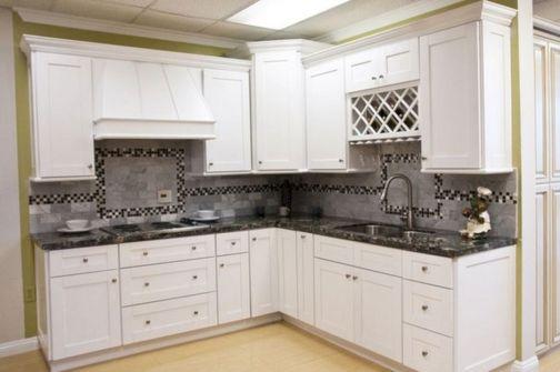 White Shaker Kitchen Cabinets Idea