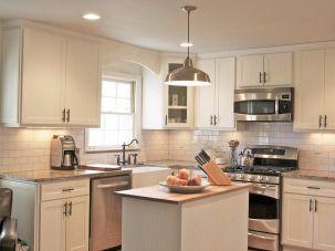 White Shaker Style Kitchen Cabinets Ideas