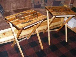 Wood TV Tray Table
