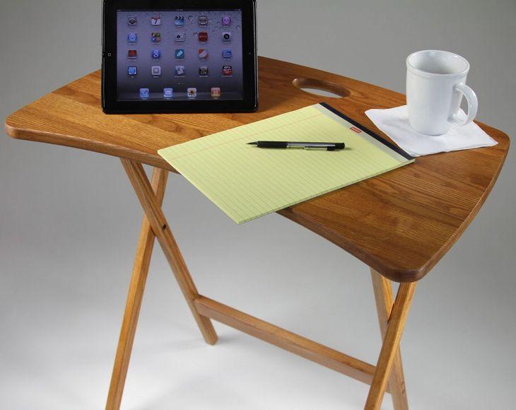 Wood TV Tray Tables Foldings