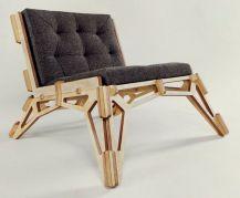 Wooden Chair Skeleton