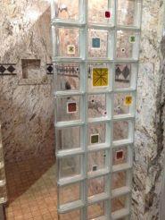 Bathroom Glass Block Shower Ideas 17