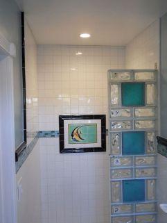 Bathroom Glass Block Shower Ideas 8
