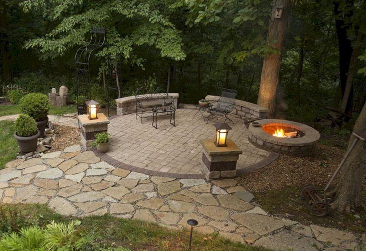 Best Backyard Firepit Ideas 116