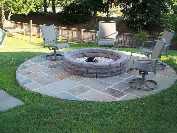 Best Backyard Firepit Ideas 12