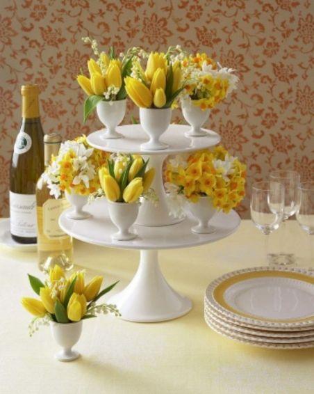 Easter Flower Arrangements As Your Table Decoration 110