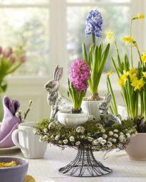 Easter Flower Arrangements As Your Table Decoration 12