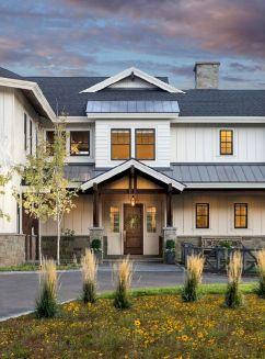 Farmhouse Exterior Design 27