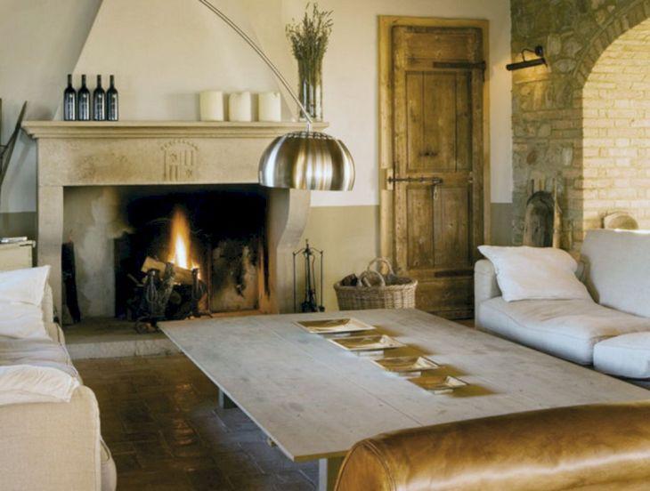 Farmhouse Living Room Fireplace 13