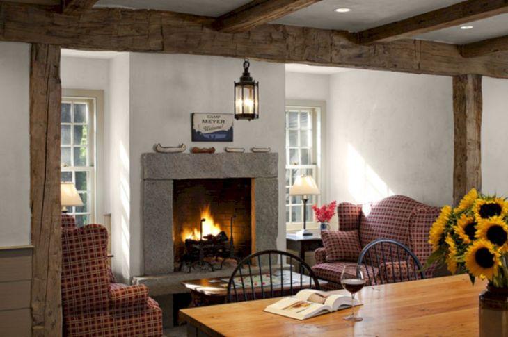Farmhouse Living Room Fireplace 15