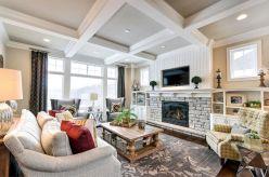 Farmhouse Living Room Fireplace 18