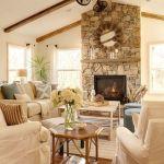 Farmhouse Living Room Fireplace 25