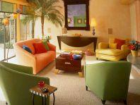 Fresh Color Palette For Living Room 13