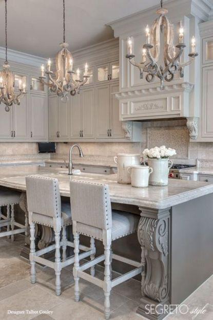 Gray Kitchen Ideas 214