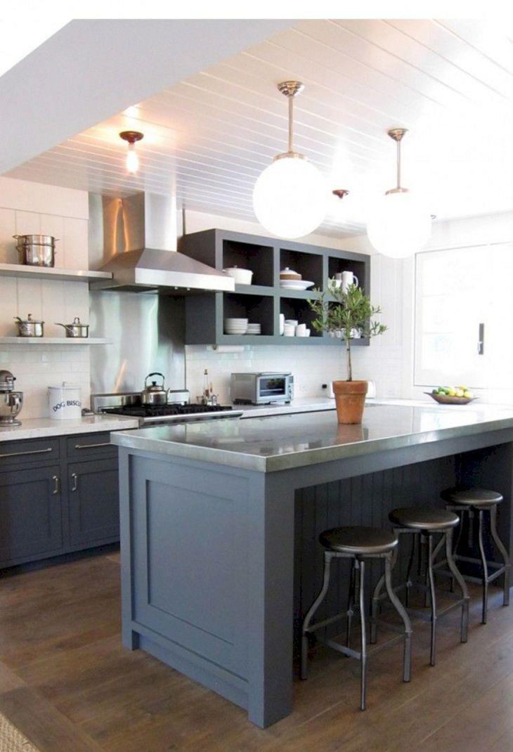 Gray Kitchen Ideas 215
