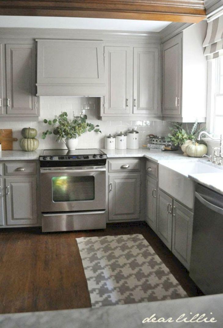 Gray Kitchen Ideas 224