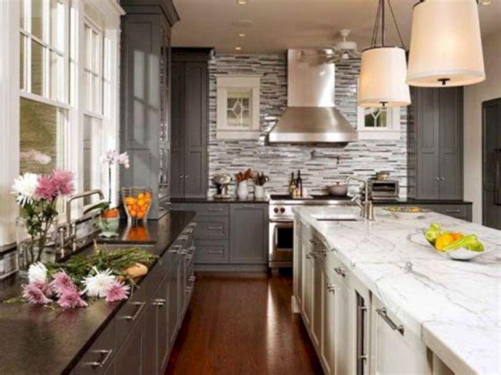 Gray Kitchen Design
